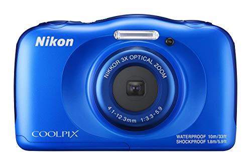 Nikon COOLPIX W100 (Blue) (Certified Refurbished)