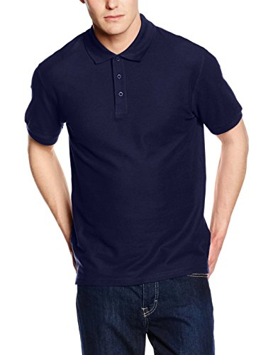 Fruit of the Loom Premium Polo - Farbe: Navy - Größe: XL