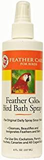 Miracle Care 8 OZ, Relief from Feather Picking and Scratching Feather Glo Bird Bath Spray