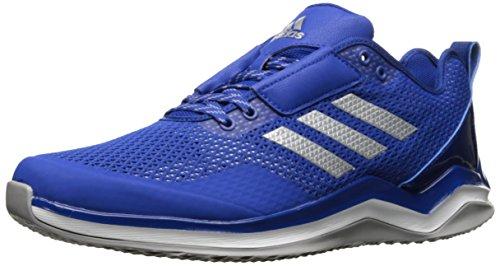 adidas Herren Speed Trainer 3.0 Cross, 0, Blau - Collegiate Royal Metallic Silber Weiß - Größe: 36 2/3 EU
