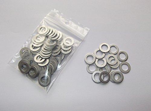 100 Stück Aluminiumringe/Dichtringe/Dichtung Alu 8x14x1,0 mm DIN 7603