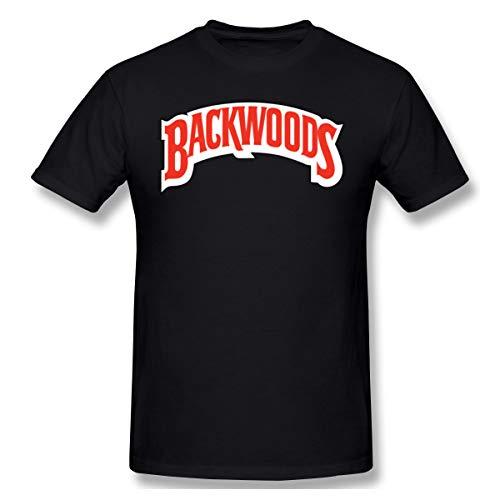 FAEOT Mens Particular Backwoods Cigars JR Cigar Tshirt S Black