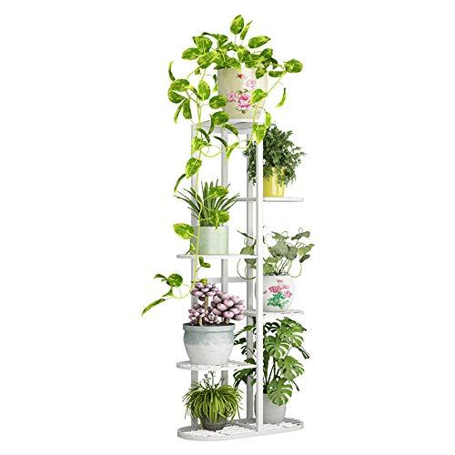 Flower Pot Rack Stand Basion Display Shelf Garden Plant Turbobm Flower Plant Pot Stand Stander en Maceta de Hierro Forjado Flower Holder Balcony Round Home Decor
