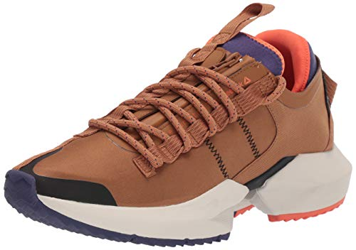 Reebok Unisex-Adult Sole Fury Trail Running Shoe, Brown/Midnight Ink/Fieora, 9.5 M US