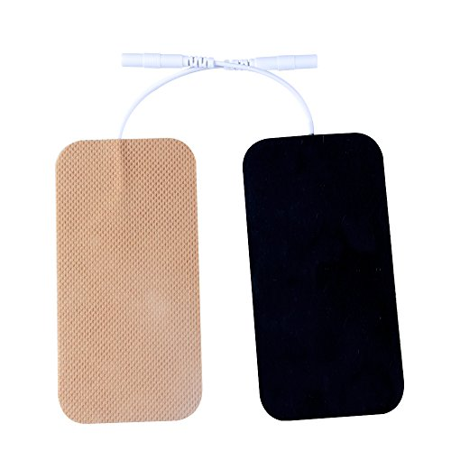 20 Pieces TENS Electrodes 2x4 Replacement Pads for Use with Tens Machine