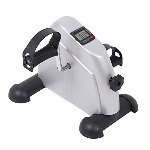 Mini Bicicleta Estática Portátil Inicio Pedal Ejercitador Gimnasio Fitness Pierna Brazo Cardio Entrenamiento Resistencia Ajustable Pantalla LCD