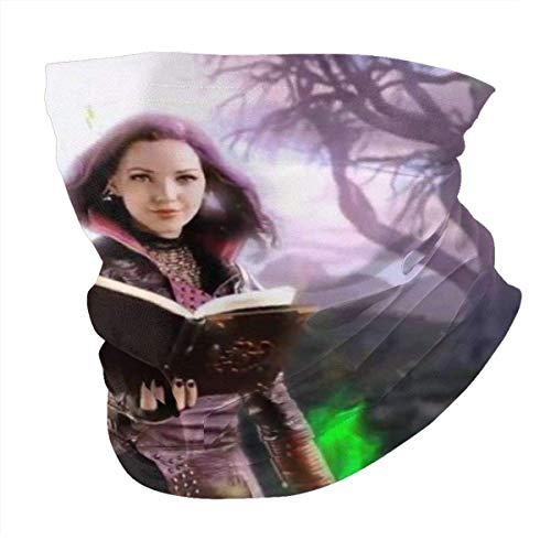 maichengxuan Descendants - Pañuelo para el cuello, 3 unidades, resistente al viento, a prueba de polvo, UV