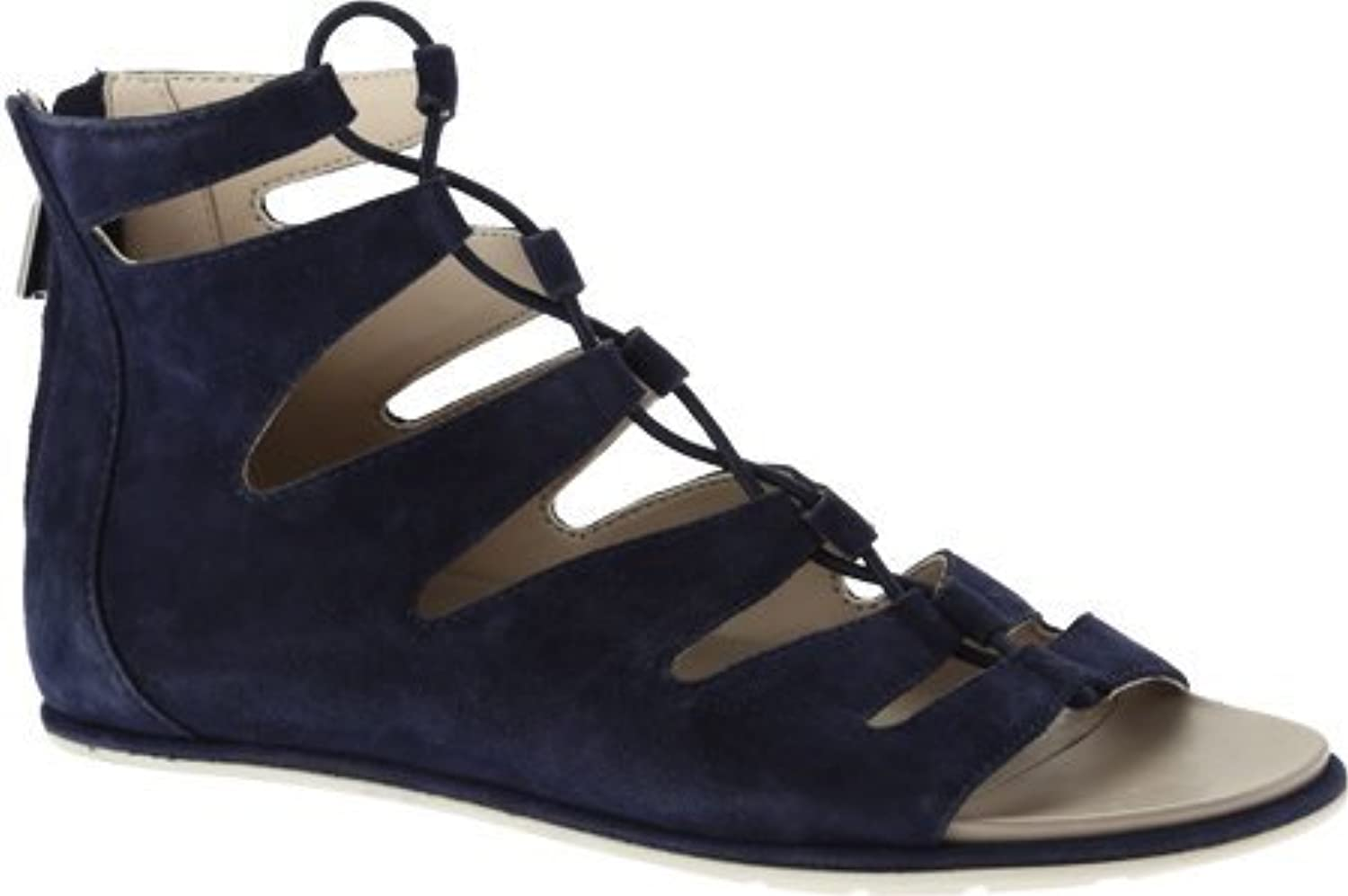 Kenneth Cole New York Women's Ollie Sandal,Navy Suede,US 6 M