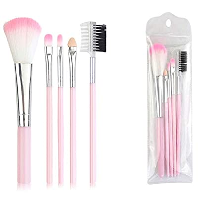 Amazon - 55% Off on Makeup Brush Set Professional Synthetic Essential Face Eye Shadow Eyeliner Foundation