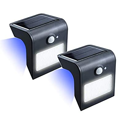 Bonlux Solar Motion Sensor LED Wall Lights Outdoor