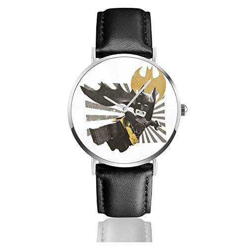 Coolman Fans Hero Graphic Men Wrist Watches Genuine Leather For Gents Teenagers Boys