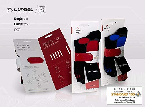 Lurbel Gravity Premium Trail Running Compression Socks, Anti-Blister, Women