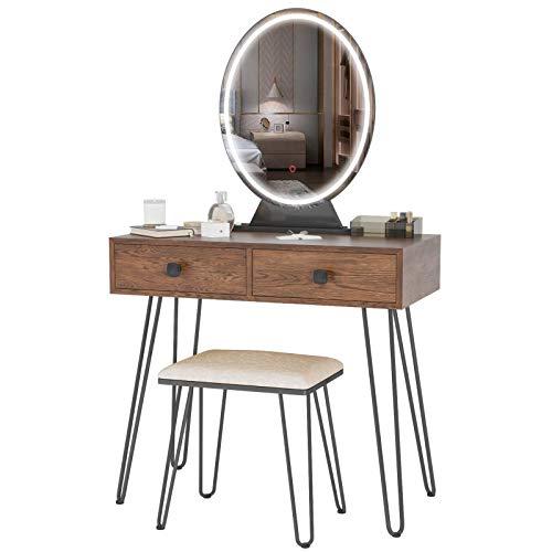 Fennio Vanity Table Set