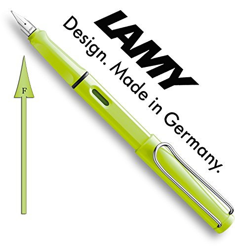 Lamy Safari Neonlime Special Edition 2015 Füllhalter 43 F
