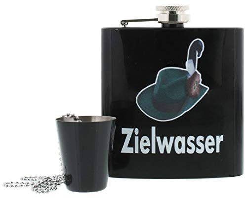 for-collectors-only Flachmann Set Schützenfest Zielwasser Hip Flask