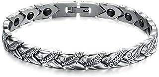 OPK Europe Style Titanium Steel Rhinestone Buckle Bracelet For Women