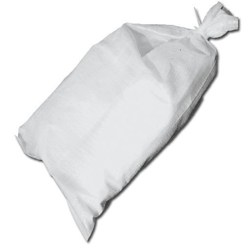 Set of Polypropylene Sand Bags w/Tie - 26in x 14in, 20 Bags by Collegiate Pacific
