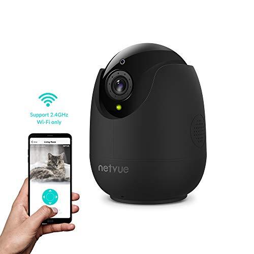 1080P Überwachungskamera Innen WLAN Handy, WLAN Kamera Alexa Babyphone mit Bewegungserkennung, Personenerkennung, Zwei-Wege-Audio,360 ° Weitwinkelbetrachtung Kamera Überwachung