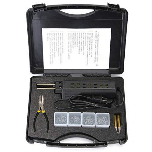SANON Car Bumper Fairing Welding Tool Set,Plastic Hot Stapler Plastic Repair Collision Kit with 200 Staple
