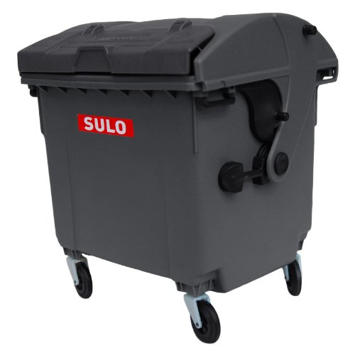 *Sulo Mini Müllcontainer Tischeimer Mini-Mülltonne Grau/Grau*