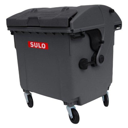 Sulo Mini Müllcontainer Tischeimer Minni-Mülltonne Grau (rot)