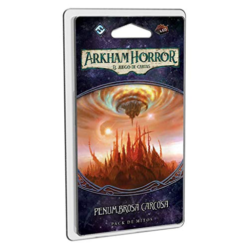 Fantasy Flight Games- Arkham Horror lcg: penumbrosa carcosa - español, Color (FFAHC17)