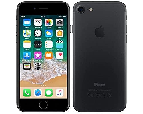 iPhone 7 32GB Preto Matte 4G Tela 4.7 Retina - Cam. 12MP + Selfie 7MP iOS 11 - Apple