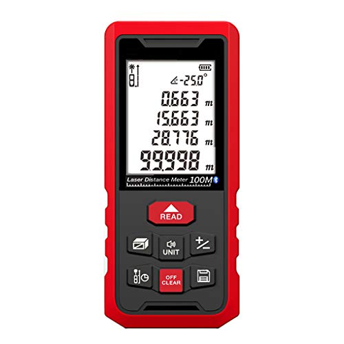 JUZEN Laser-Entfernungsmesser Bluetooth APP Doppelstart Laser Dual-Modus Stromversorgung Sprachsendung IP54 Wasserdicht Für Innen- Und Außen