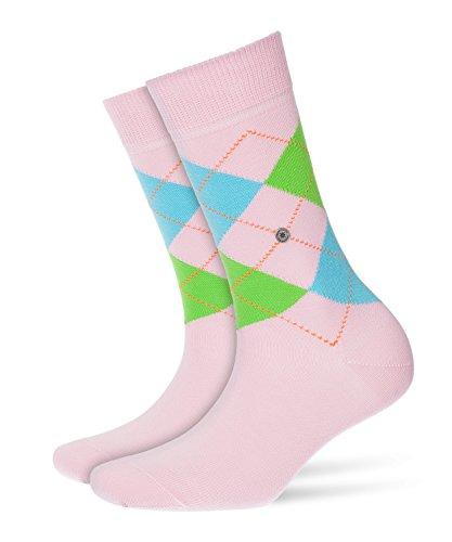 BURLINGTON Damen Socken Queen, Baumwollmischung, 1 Paar, Rosa (Rose 8793), Größe: 36-41
