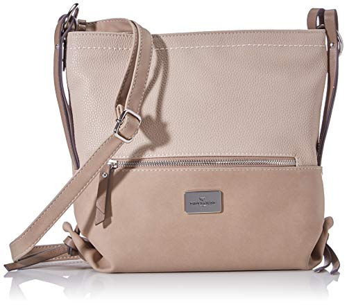 Tom Tailor Acc dames Elin Crossbag schoudertas, beige, medium
