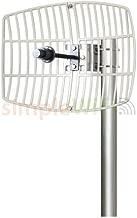 Antenna World G5724 24 Dbi Parabolic Grid Directional Antenna, 802.11ac, 5.72-5.85ghz