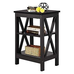 VECELO Sofa Side/End Storage Shelf X-Design Versat...