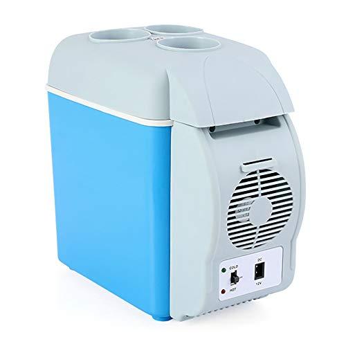 SYTH Réfrigérateur de Voiture 7,5 litres 12 canettes Refroidisseur et réchauffeur Portables 12 V / 220 V réfrigérateurs compacts Silencieux pour Bureau à Domicile de Voiture