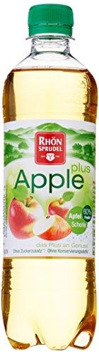 Rhönsprudel Apfelschorle, 6er Pack, EINWEG (6 x 500 ml)