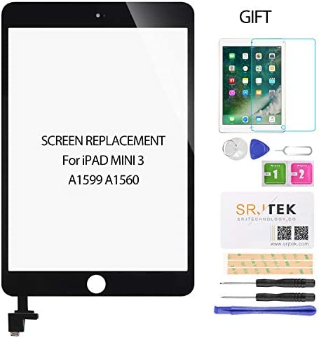 Fixcracked Touch Screen Replacement Parts Digitizer Glass Assembly for Ipad 2 + WIFI Antenna Cable(Black)