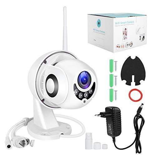 1080P high-definition draadloze WiFi-bewakingscamera, infrarood nachtzichtcamera, IP66 waterdicht, ondersteunt alleen videobewaking van de meeste mobiele telefoons, geschikt voor thuis en (Zwart)