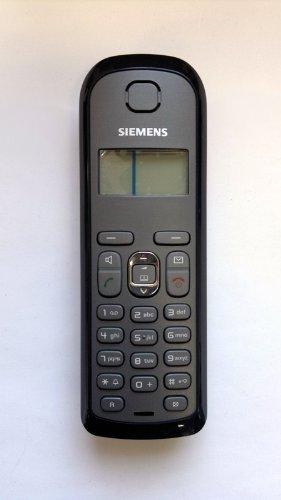 Siemens Gigaset AS 28H / AS28H schwarz Zusatzmobilteil zum Ersatz / Erweiterung OHNE Ladeschale OHNE AKKUDECKEL