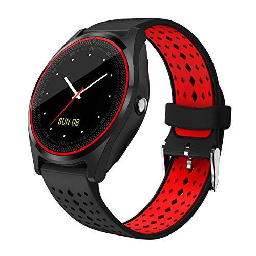muvit MIOSMW011 Smartwatch Schwarz IPS 3,1 cm (1.22 Zoll) Handy - Smartwatches (3,1 cm (1.22 Zoll), IPS, Touchscreen, 0,032 GB, Handy, Schwarz)