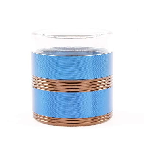 Great Price! Hlake Herb Grinder, Five-layer Aluminum Alloy Threaded Transparent Cover, Smoker, Color...