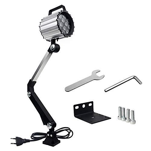 LED Werkzeug Drehmaschine Lampe Maschinenleuchte Lange Arm 12W 110V 220V Arbeitsleuchte einstellbar Wasserdicht Arbeitsscheinwerfer