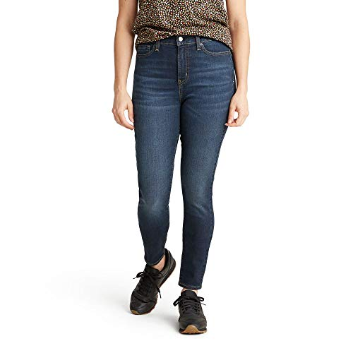 Signature by Levi Strauss & Co. Gold Label Women's Totally Shaping High Rise Skinny Jeans, Sea and Sky, 18 Long