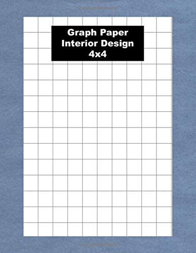 Graph Paper Interior Design: Architect Sketchbook Journal 5 X 5 for Architectural Planning, Design, Construction and Engineering