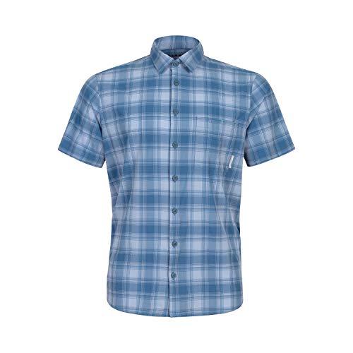 Mammut Herren T-shirt Trovat Trail, blau, L