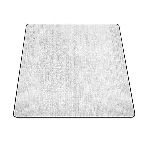 Fengbingl-hm Picknickdecke Mat Strandmatte Picknick-Matte Moisture Barrier-Zelt-Matten Doppelseitige Kinder Krabbeln Mat für Familiencamping im Freien (Farbe : Silber, Größe : 2.0x2.0m)