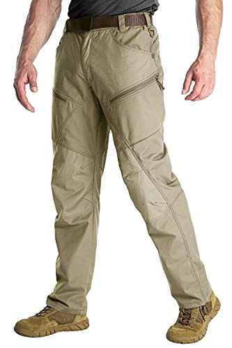 ANTARCTICA Mens Hiking Tactical Pants Lightweight Waterproof...