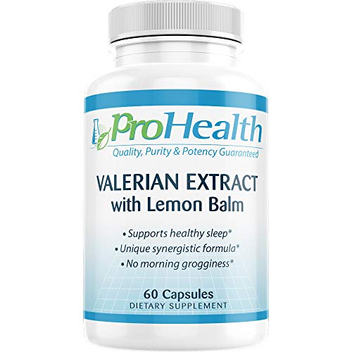 Pro Health Valerian Extract with Lemon Balm
