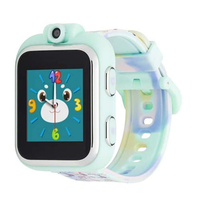 iTOUCH Playzoom Kids Smart Watch with Digital Camera and Video Recorder (Tie Dye Unicorn Print)