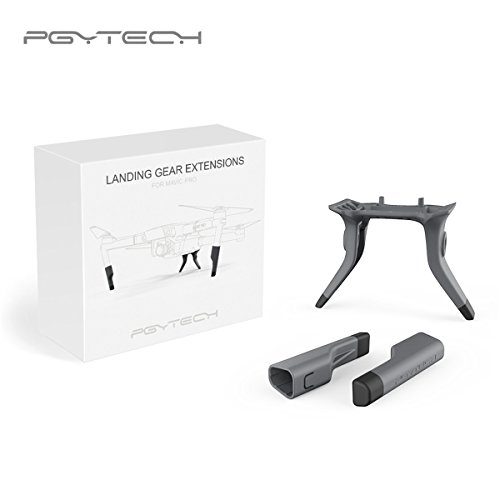 Pgytech Extended Landing Gear Leg Height Extender PGYTECH for DJI Mavic Pro Drone Accessories Parts Extension Mount Kit Anti-Drop