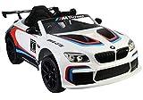 Voiture électrique 12V BMW M6 GT3 Blanche - Pack Luxe