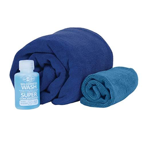 Sea to Summit Tek Towel Wash Kit - Handtuch/Waschlappen/Wash-Konzentrat